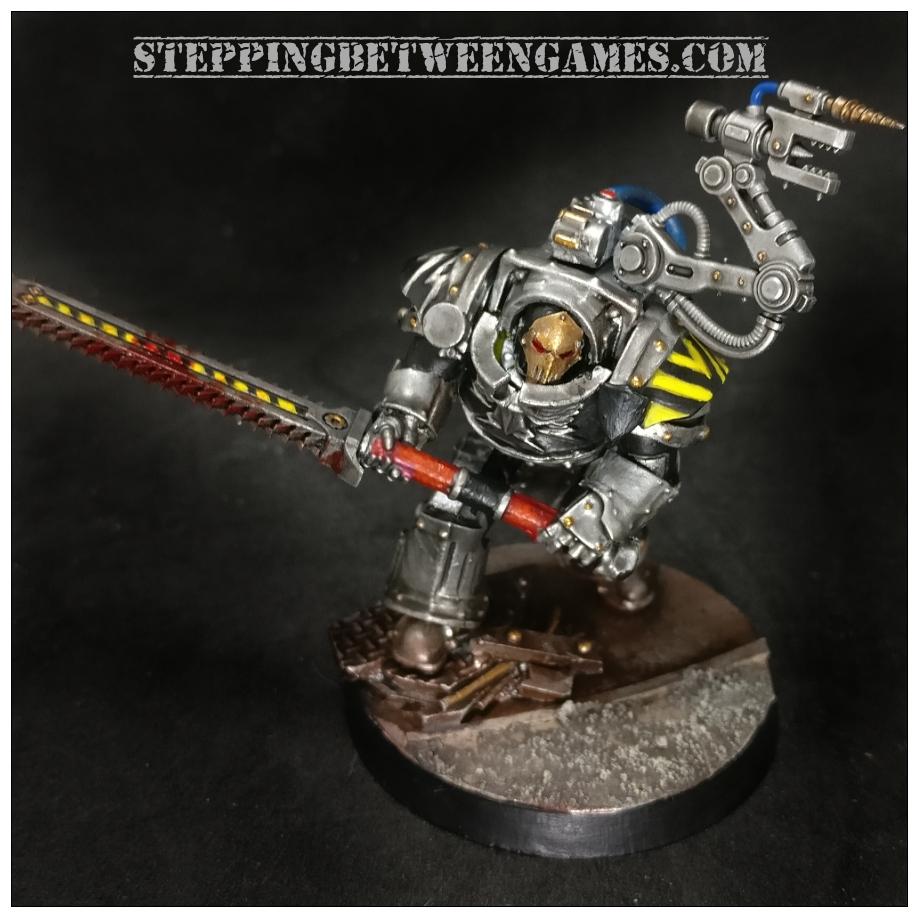 Iron Warriors Warsmith Curax 4