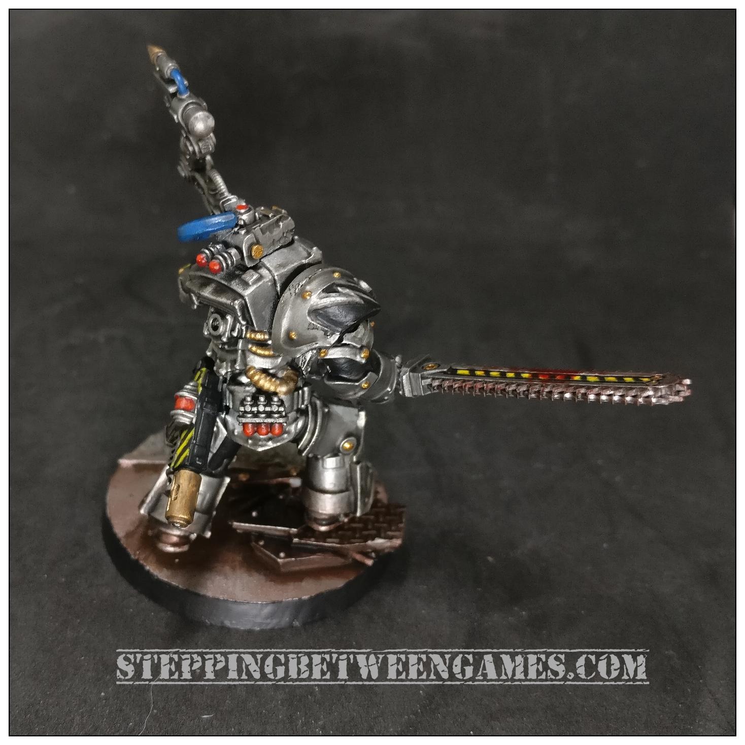 Iron Warriors Warsmith Curax 2