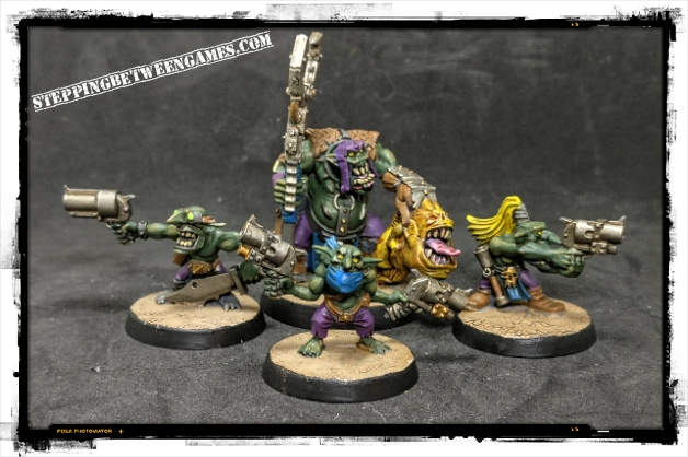 Ork Runtherd and Gretchin Grots