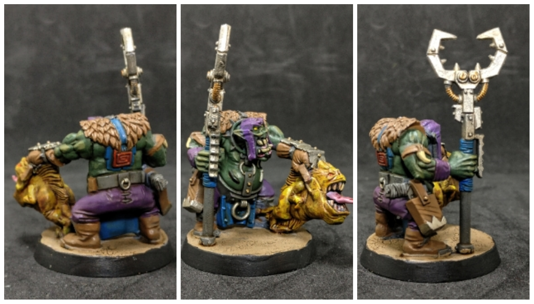 Ork Runtherd 8th edition
