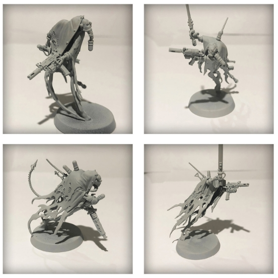 Dark Mechanicus Conversion ruststalkers undercoated