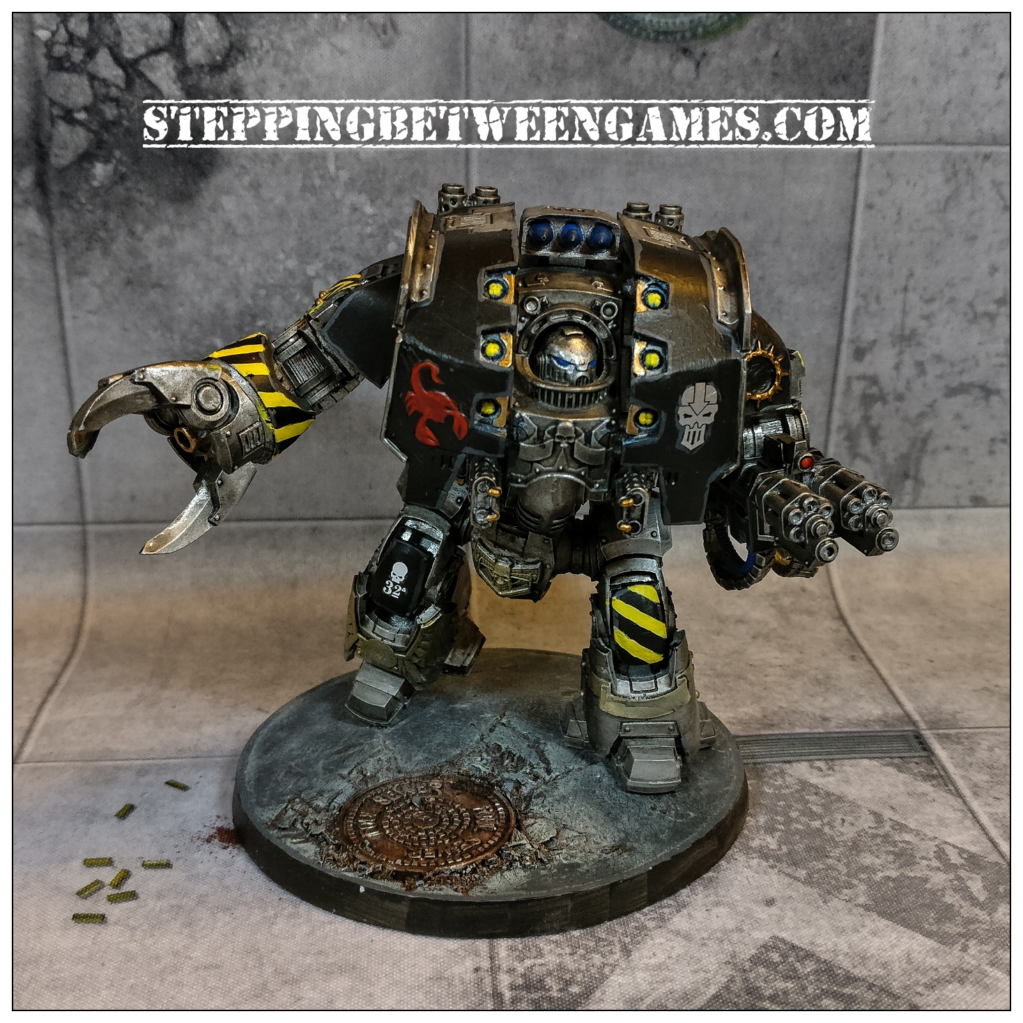 Iron Warriors Leviathan - front