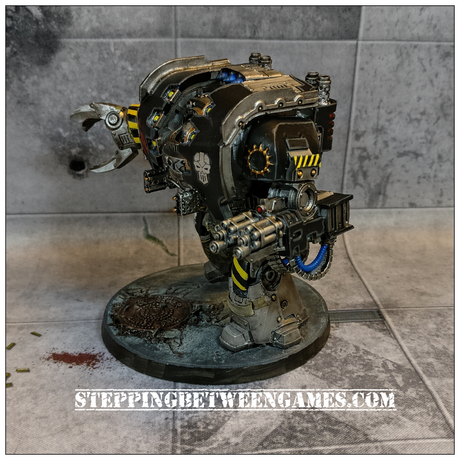 Iron Warriors Leviathan - left side