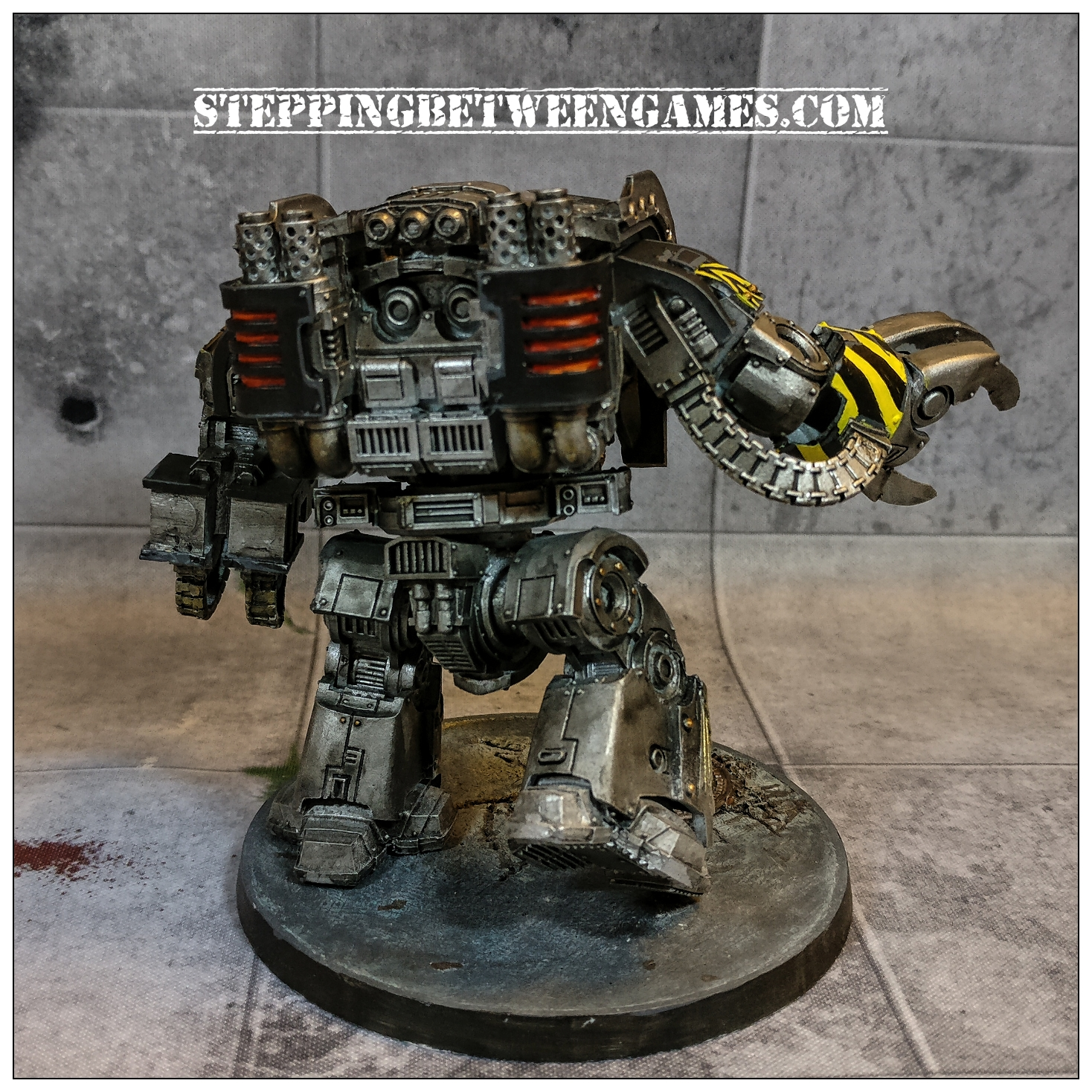 Iron Warriors Leviathan - back