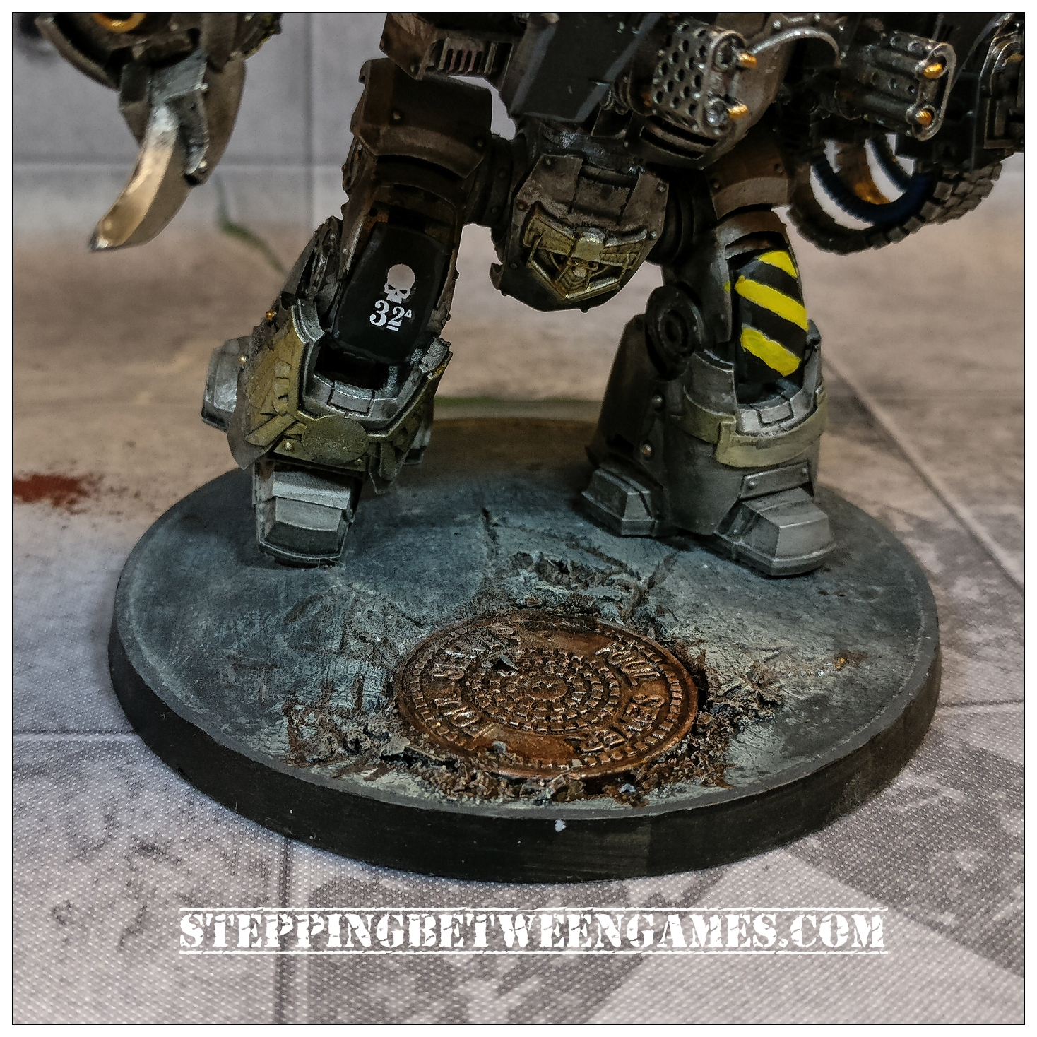 Secret Weapon Miniatures base