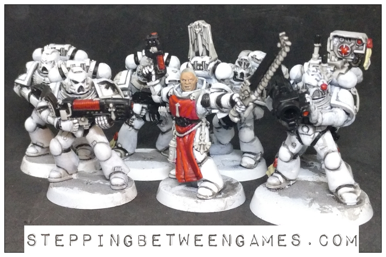 Star Wars Space Marines group shot