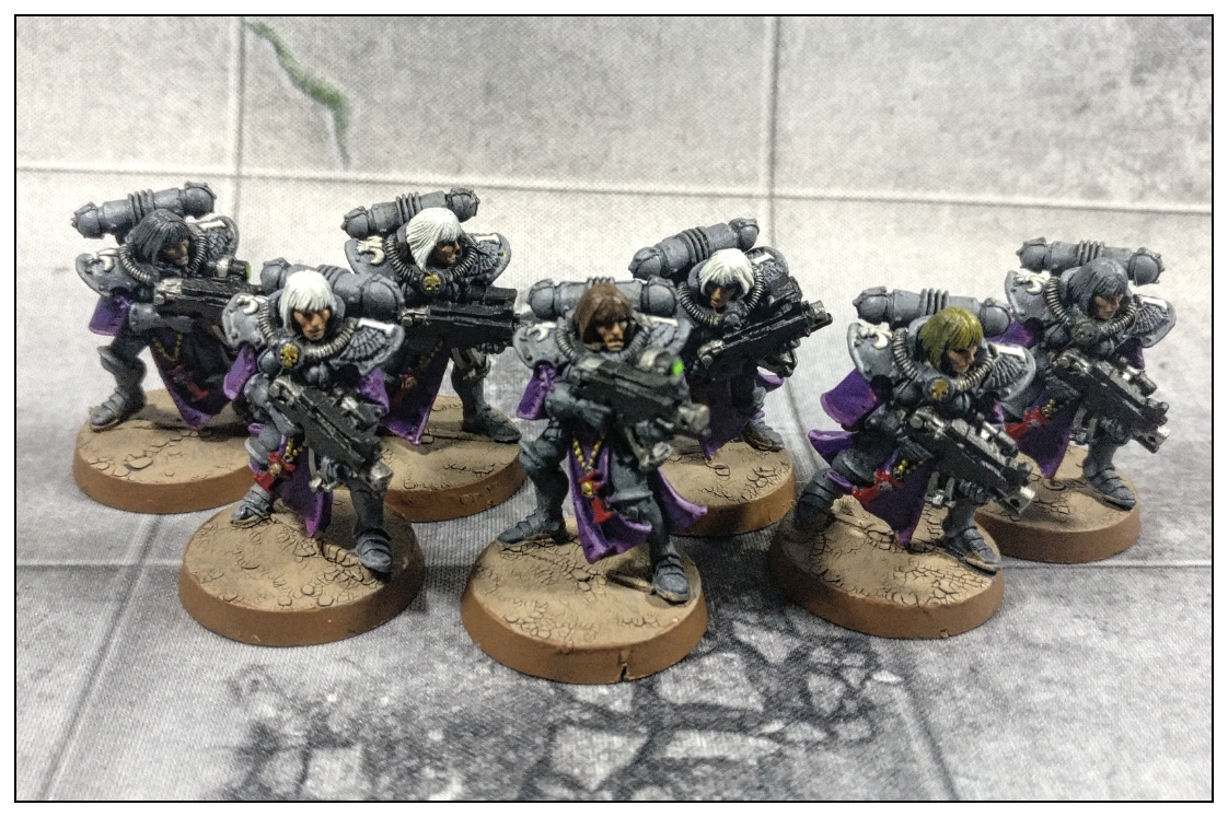 Adepta Sororitas - Sisters of Battle - bolter troopers