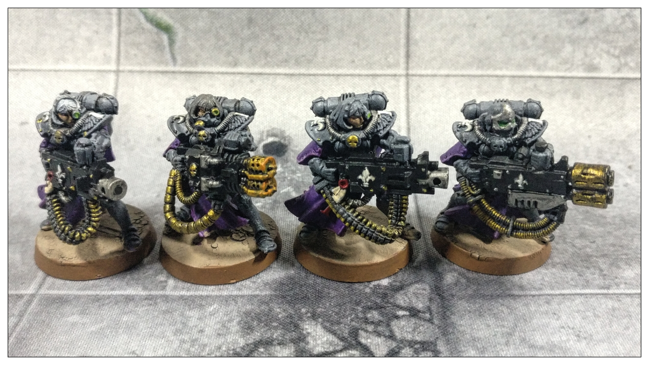 Adepta Sororitas - Sisters of Battle - heavy weapons