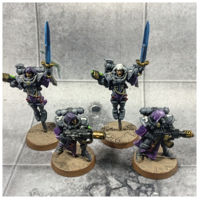 Adepta Sororitas - Sisters of Battle - flamer, melta and seraphim