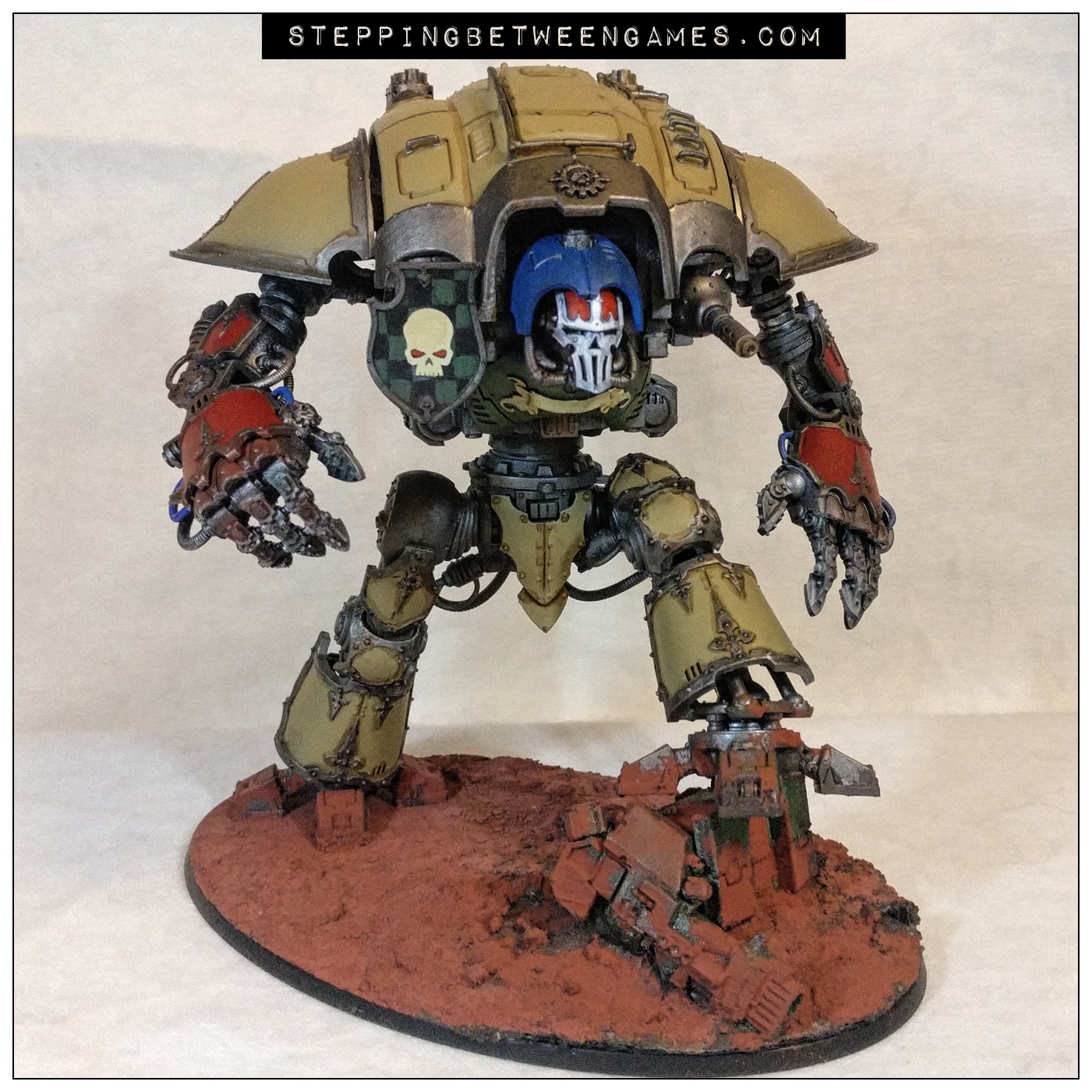 House Malinax Chaos Knight Rampager two thunderstrike gauntlets