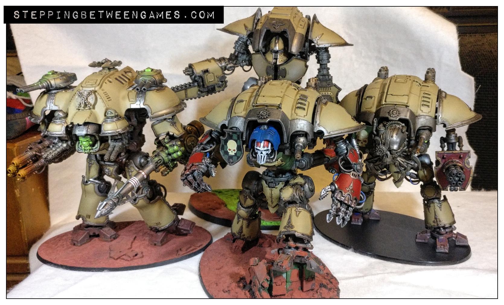 Chaos knights - House Malinax Lance