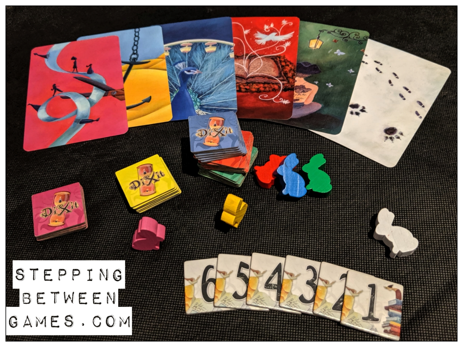 Board game review Dixit cards