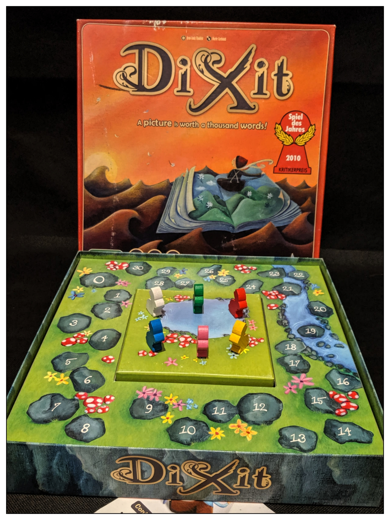 Board game review Dixit box