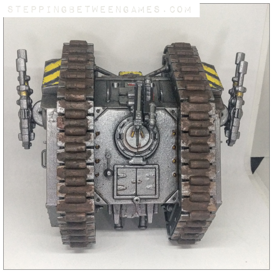 Iron Warriors Landraider Rogue Trader top down