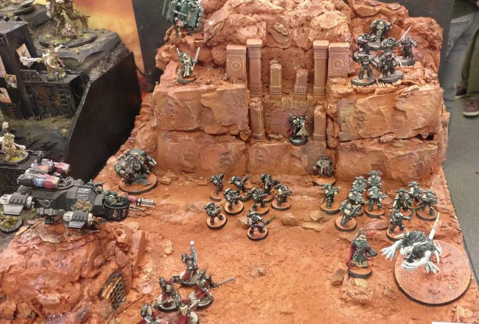 Armies on Parade dark angels