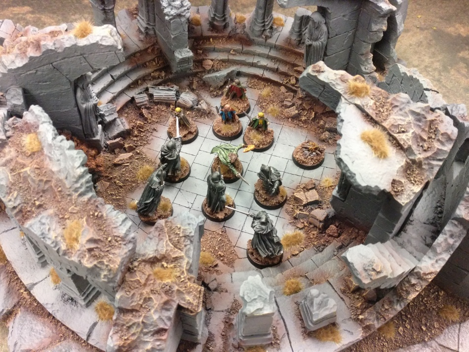 Armies on Parade Weathertop Lord of the Rings