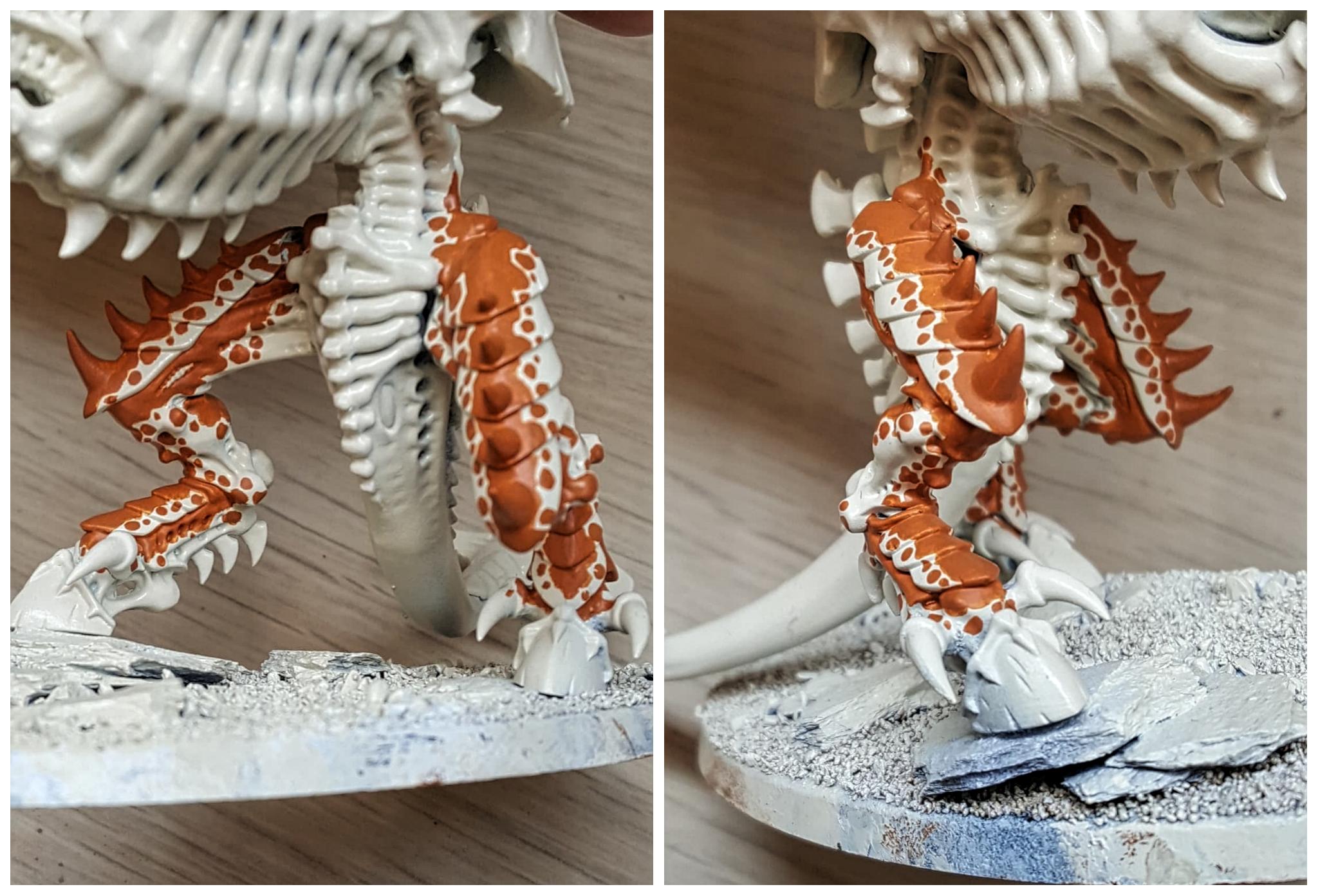 Carnifex leg details
