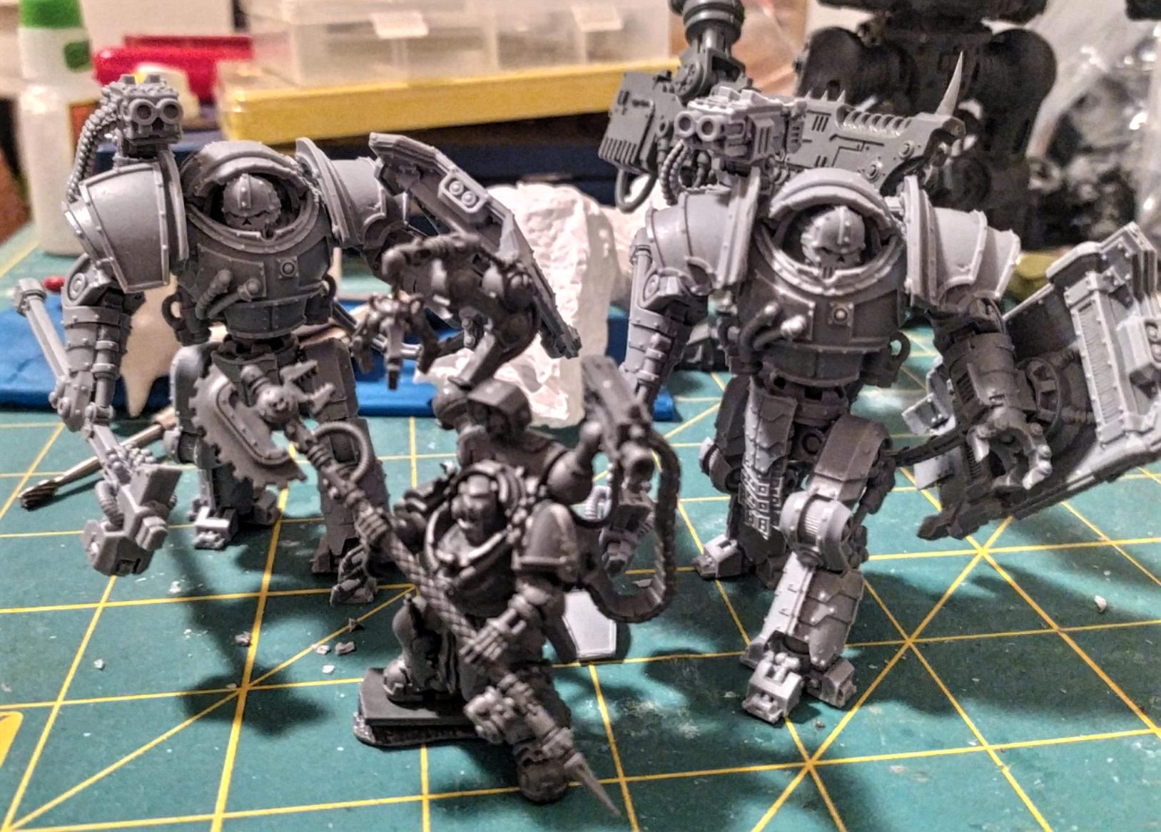 Iron Circle robots