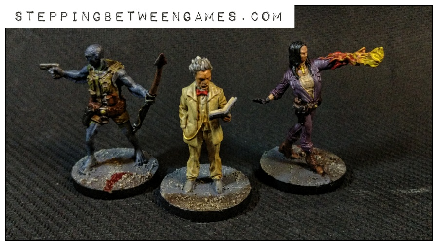 Hellboy the Boardgame: Painted miniatures