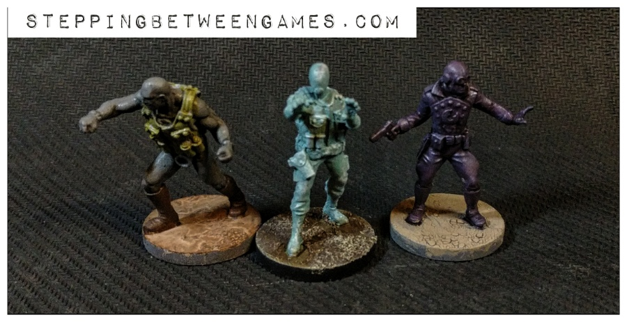 Hellboy the Boardgame: Painted miniatures lobster
