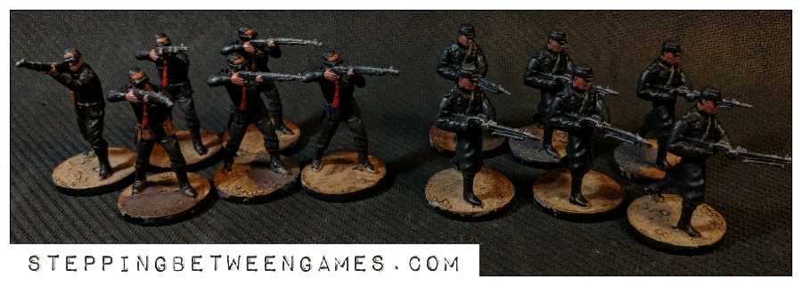 Hellboy the Boardgame: Painted miniatures nazis