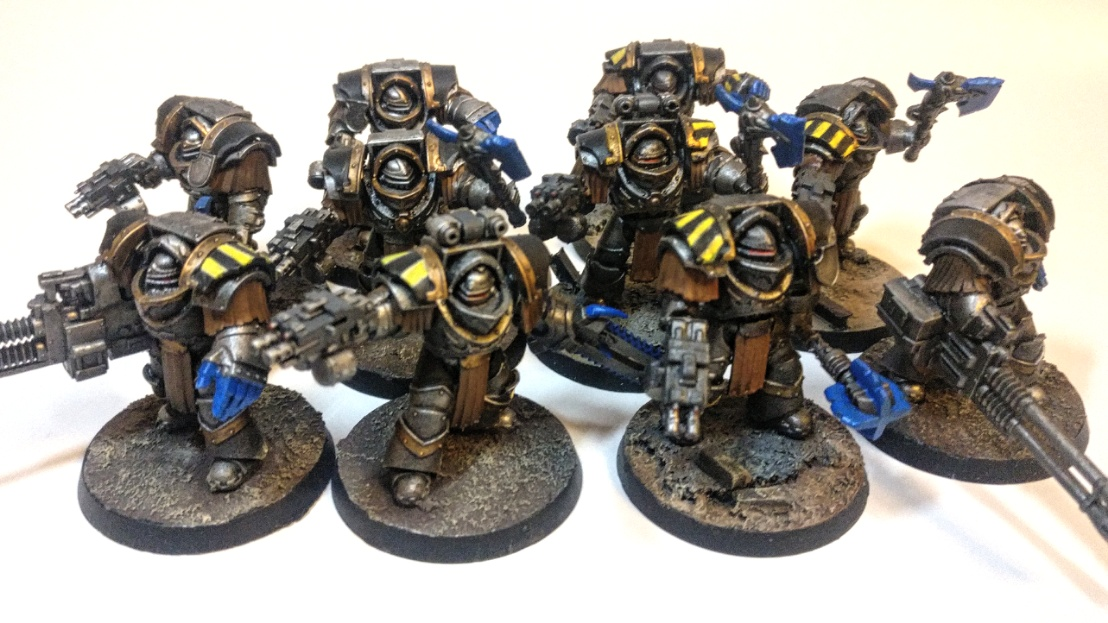Iron Warriors Cataphractii - 2