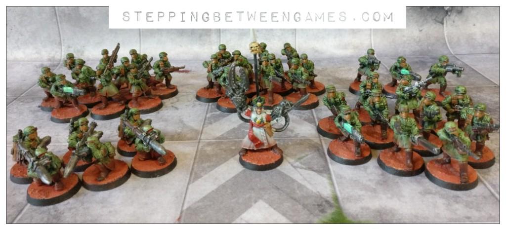 steel legion astra militarum platoon