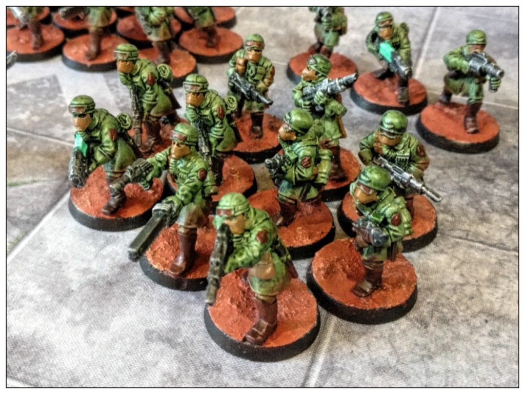 steel legion astra militarum squad