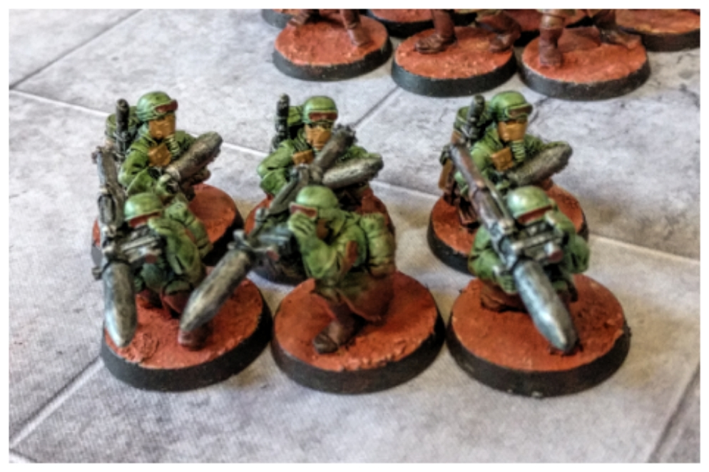 Astra Militarum Warhammer 40k Stahllegion Steel Legion Lascannon