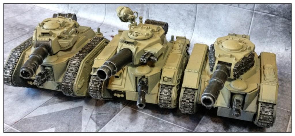 steel legion astra militarum leman russ squadron