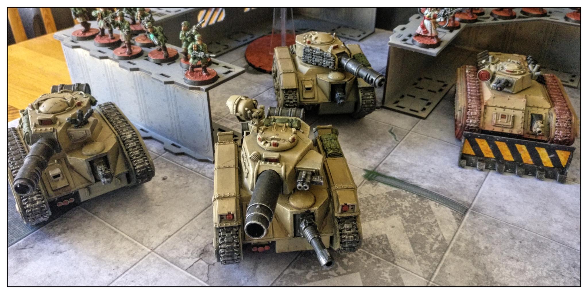 Imperial guard army - Astra Militarium - Leman Russes