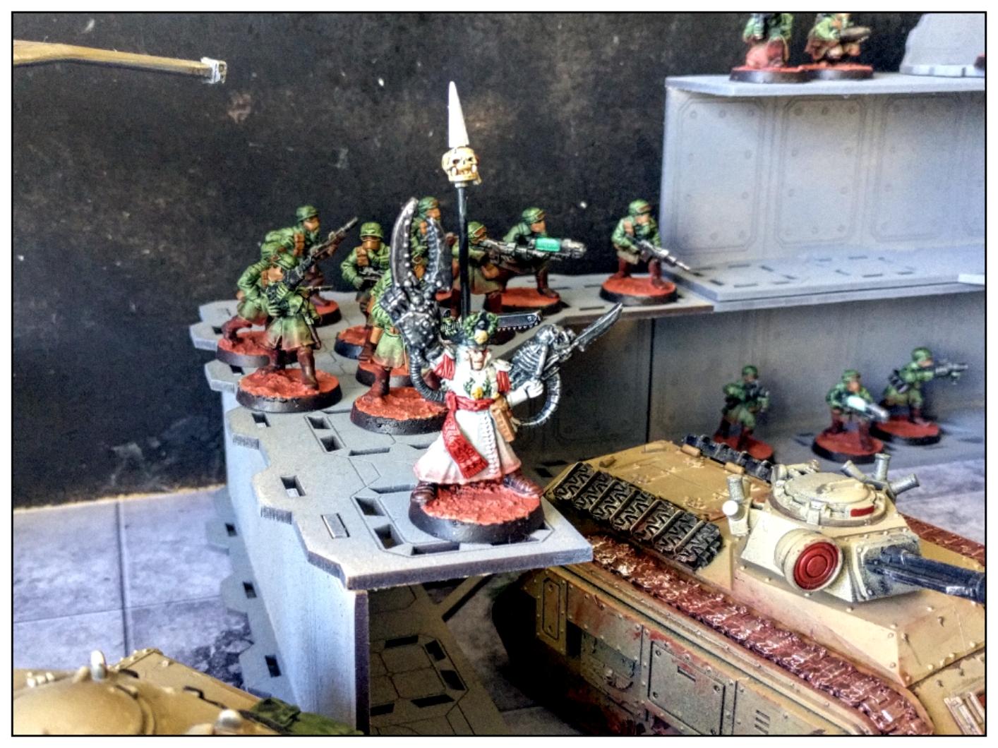 Imperial guard army - Astra Militarium - Troops
