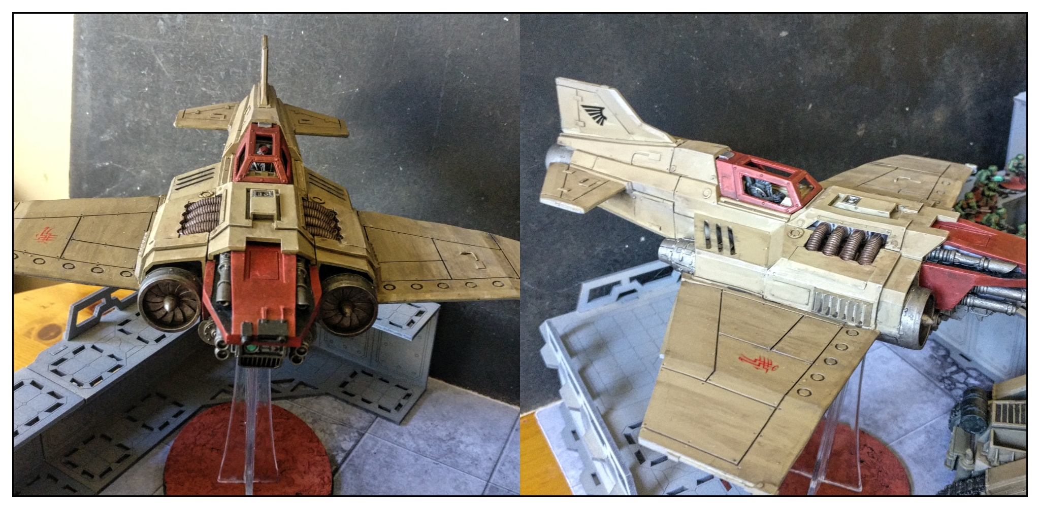 Thunderbolt Heavy Fighter - Imperial guard army - Astra Militarium