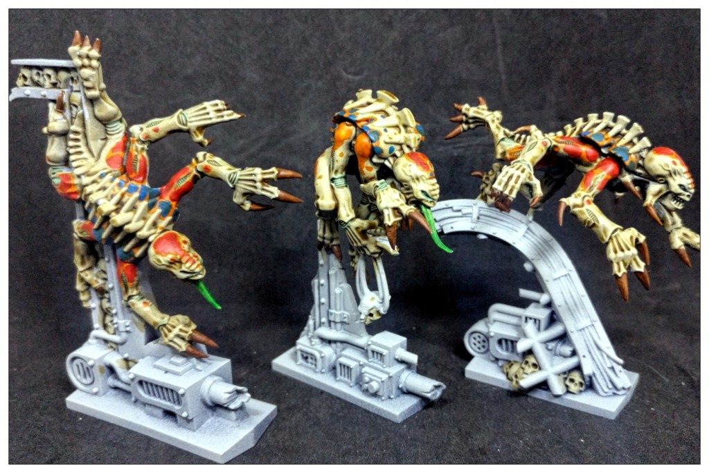 Three Genestealers from Space Hulk