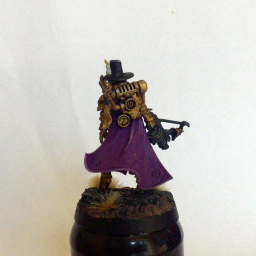 Inquisitor Greyfax back