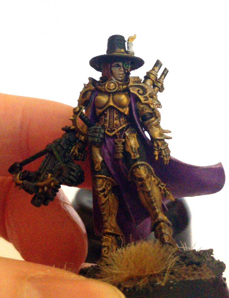 Inquisitor Greyfax close up