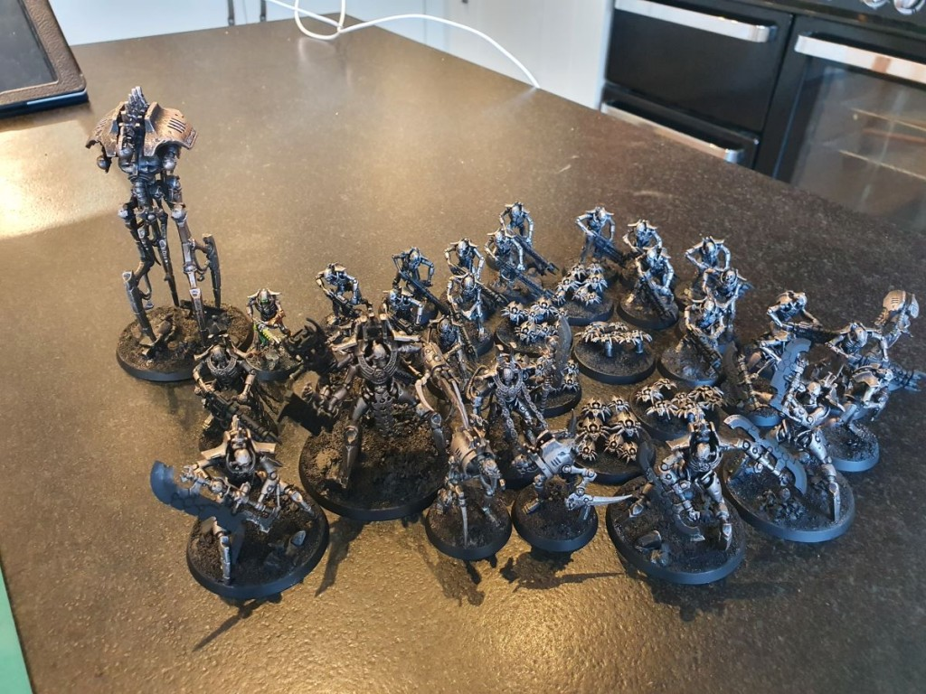 dessie necron force basecoated
