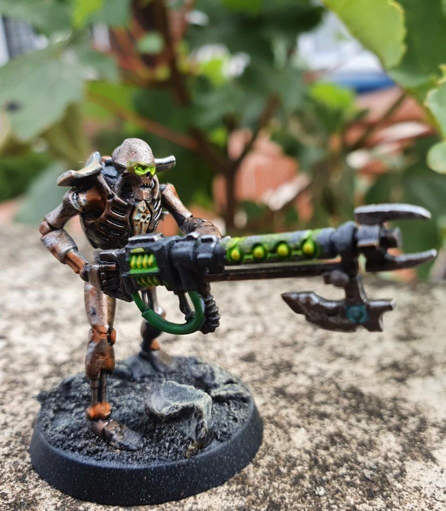 dessie necron test model rust front