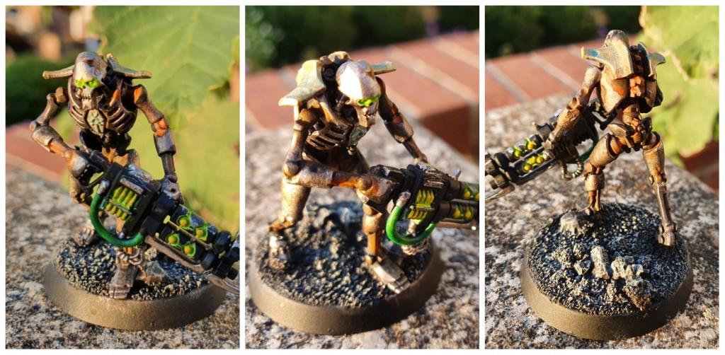 Necron Warrior - Rusty