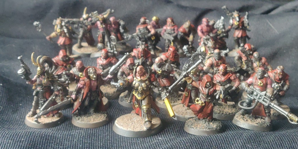 all the chaos cultists