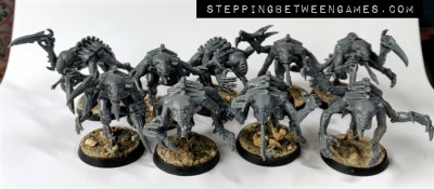 A pack of Genestealers