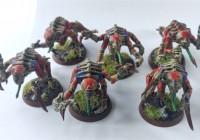 Six Tyranid Genestealers