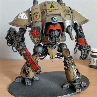 Chaos Imperial Knight Crusader Ravager