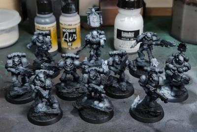 legion of the damned base coats