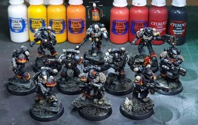 legion of the damned blending flames
